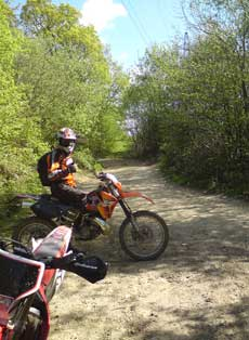 XR250 Enduro Bike
