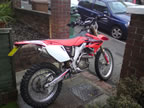 New CRF250X